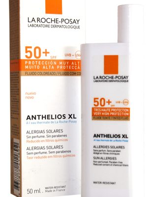 Sunscreen review: La Roche-Posay Anthelios XL Tinted Fluid SPF 50+