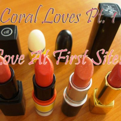 Summer loves pt.1… Coral!