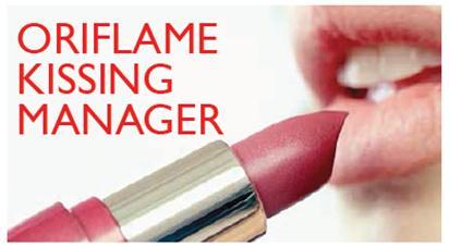 Η Oriflame αναζητά Kissing Managers! ;)