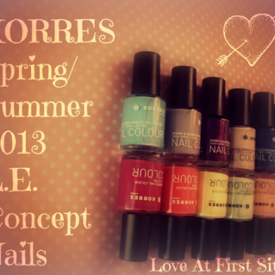 Summer brought upon us by KORRES… SS13 Limited Edition Concept Nails…