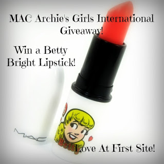 Winner of MAC Archie's Girls Betty Bright Lipstick International Giveaway!