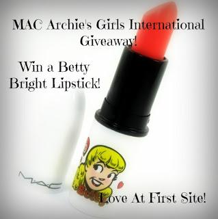 Winner of MAC Archie's Girls Betty Bright Lipstick International Giveaway!
