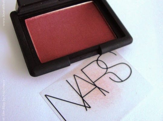 NARS Seduction Blush. Review and Swatches.