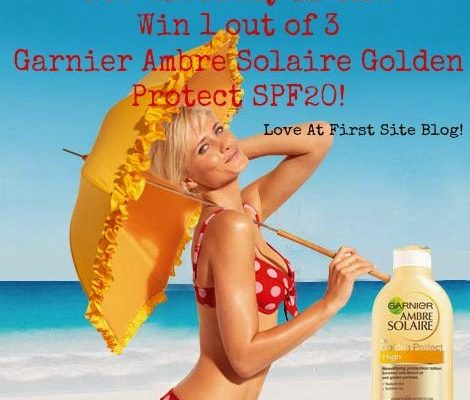 Summery Garnier Ambre Solaire Golden Protect Giveaway [Greek Only][CLOSED]