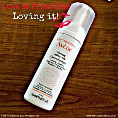 Avene Cleansing Foam | A Review