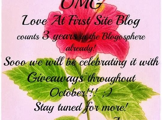 CND Vinylux Giveaway. 3 Years Love At First Site Blog!
