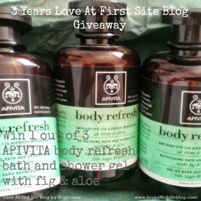 [closed] APIVITA Body Refresh mini Review and International Giveaway