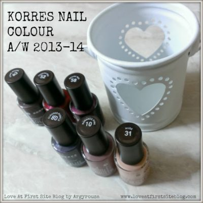 KORRES Limited Edition Nail Colour for A/W 2013-14