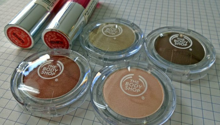 New Colour Crush-es by The Body Shop