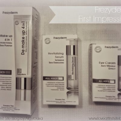 Frezyderm All Ages Skincare First Impression