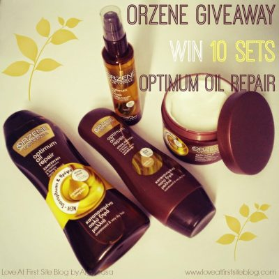 [CLOSED] Orzene Μπύρας Optimum Oil Repair Giveaway. 10 Sets for YOU!