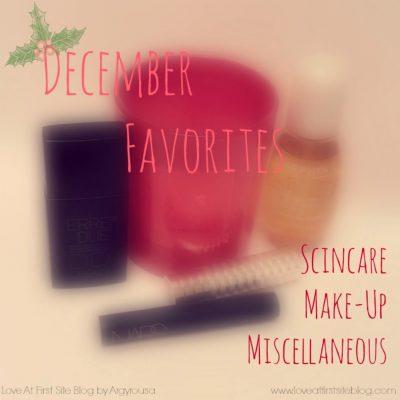 December 2014 Favorites