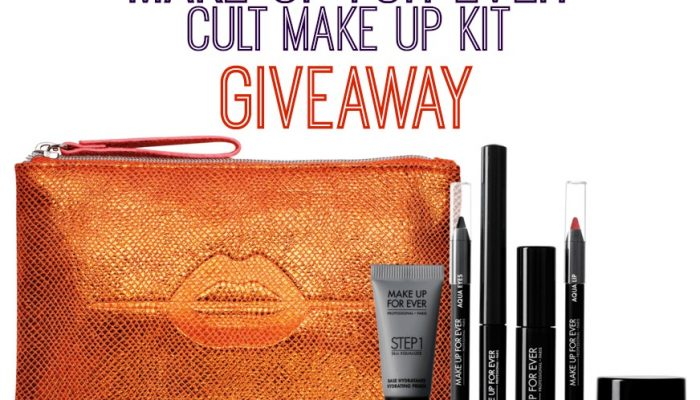 MUFE Cult Make up set GIVEAWAY