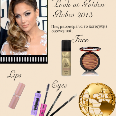 J.Lo. at the Golden Globes. Do it yourself!