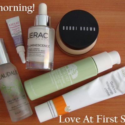 Skincare routine of the moment in photos. February 2013.