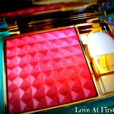 Estée Lauder's Pure Colour Illuminating Powder Gelée Blush in Tease: A review
