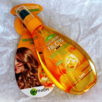 Garnier Fructis Miraculous Oil. A review and a [Greek only] Giveaway. [CLOSED]