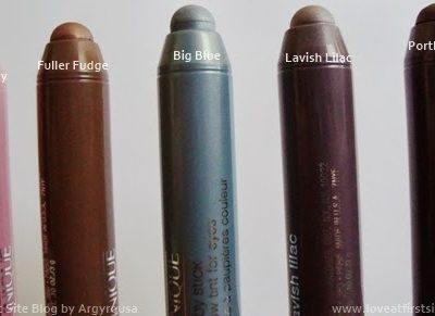 Clinique Chubby Stick Shadow Tint for Eyes. Review and Swatches.