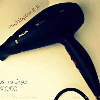 Philips Pro Dryer 2100W HPS910/00 Review #mcblogawards