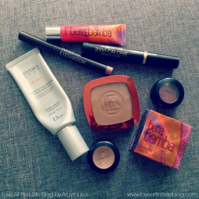 The week's make up bag