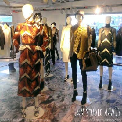 Fashion News – H&M Studio A/W15 και νέο flagship κατάστημα